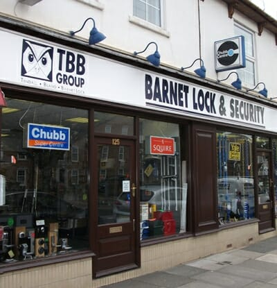 barnet lock showroom